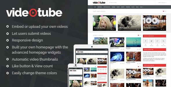Video Sharing Platform Website Templates from ThemeForest