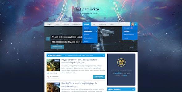 GameCity Flat Clean Gaming Template