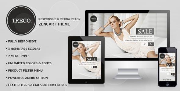 Trego - Premium Responsive Zencart Theme nulled theme download