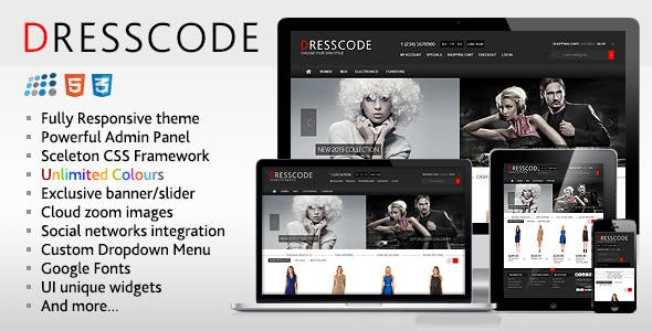 Dresscode - Responsive NopCommerce Theme nulled theme download