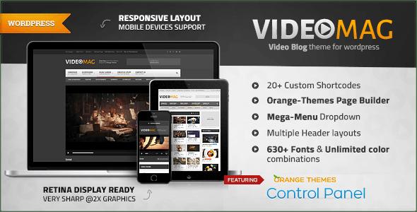 VideoMag - Powerful Video WordPress Theme by orange-themes