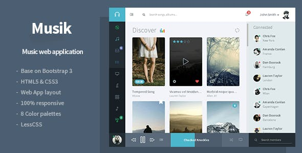 application template website templates from themeforest