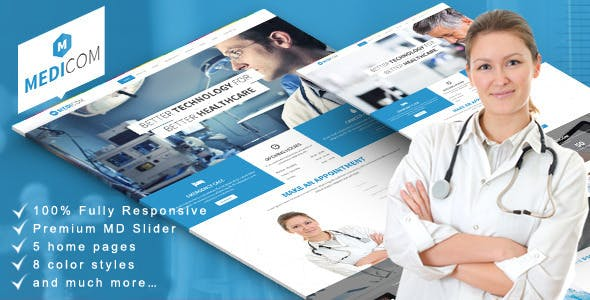 drupal themes medical