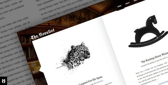 The Novelist: Responsive WP Theme for Writers nulled theme download