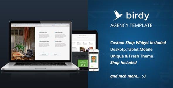 Birdy Agency Template Shop